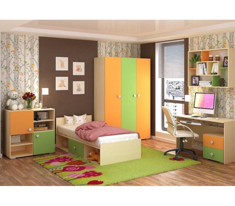 5d5463eaee2e0 Купить мебель для детской комнаты «Юнга-2» недорого