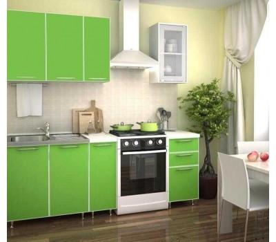 1.5 м кухня цвет зелёная мамба