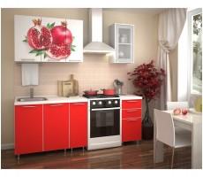 Кухня с фотопечатью «Гранат» - 1.5 м