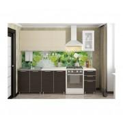 Кухня «Радуга» цвет Венге / Дуб беленый -  2 м