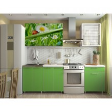 Кухня с фотопечатью «Лето» - 1.8 м