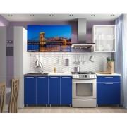 Кухня с фотопечатью «Мост» - 1.8 м